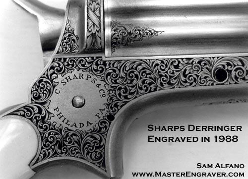 Sam Alfano Engraver Firearms Engraving