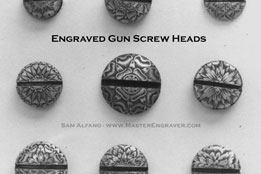 Gun Screw Heads