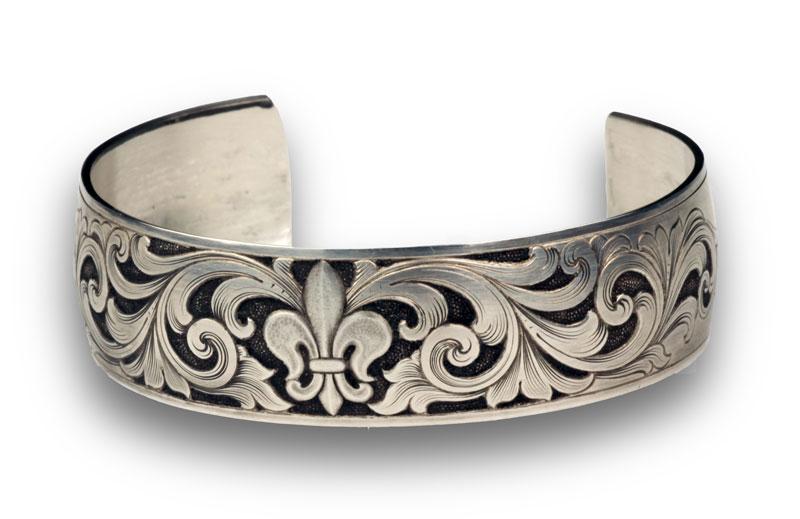 Sam alfano engraver jewelry engraving pendant relief engraved silver bracelet aloadofball Gallery