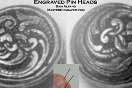 Engraved Pinheads